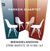 Album artwork for Mendelssohn: String Quartets, Op. 44, Nos. 1 & 3