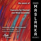 Album artwork for The Music of David Maslanka, Vol. 2: Concerto for
