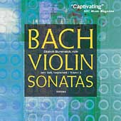 Album artwork for BACH VIOLIN SONATAS