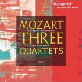 Album artwork for MOZART: THREE QUARTETS