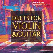 Album artwork for DUETS FOR VIOLIN AND GUITAR