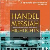 Album artwork for HANDEL MESSIAH HIGHLIGHTS