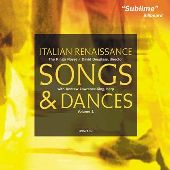 Album artwork for ITALIAN RENAISSANCE DANCES, VOLUME 1