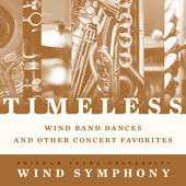 Album artwork for Timeless: Wind Band Dances and Other Concert Favor