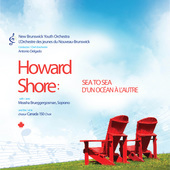 Album artwork for Howard Shore: Sea to Sea / New Brunswick Youth