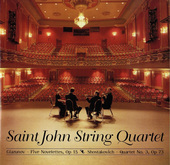 Album artwork for Saint John String Quartet