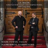 Album artwork for Bach: Violin Sonatas, BWV 1014-1019 / Fewer, Knox