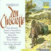 Album artwork for PAISIELLO: DON CHISCIOTTE/ BARBACINI, PETERS, ZILI