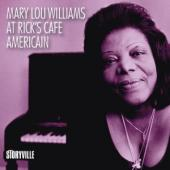 Album artwork for Mary Lou Williams at Rick's Cafe Americain