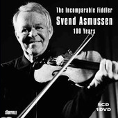 Album artwork for The Incomparable Fiddler - Svend Asmussen