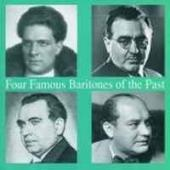 Album artwork for Four Famous Baritones of the past