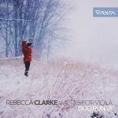 Album artwork for Clarke: Works for Viola / Duo Runya