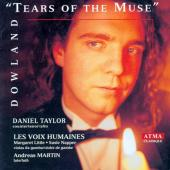 Album artwork for Dowland - Tears of the Muse / Taylor, Martin
