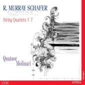 Album artwork for Schafer: String Quartets no 1-7 / Molinari Quartet