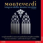 Album artwork for Monteverdi: Vespro della Beata Vergine / Stubbs