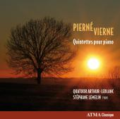 Album artwork for Pierne / Vierne: Quintets for Piano