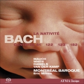 Album artwork for Bach: La Nativite (Cantatas 61, 122, 123, 182)