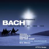 Album artwork for Bach: L'Epiphanie, Cantatas 72, 81, 155, 156
