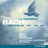 Album artwork for Bach: Cantates pour la Pentecôte