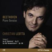 Album artwork for Beethoven: Piano Sonatas Vol. 2