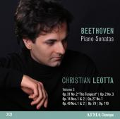 Album artwork for Beethoven: Piano Sonatas vol.3 / Leotta