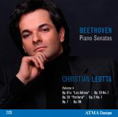 Album artwork for Beethoven: Piano Sonatas Vol.4 / Leotta