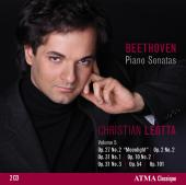 Album artwork for Beethoven: Piano Sonatas vol.5 / Leotta