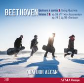 Album artwork for Beethoven: String Quartets vol. 2 - Quatuor Alcan