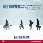 Album artwork for Beethoven: String Quartets, Vol. 3