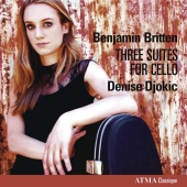Album artwork for Britten: Three Suites for Cello (Djokic)