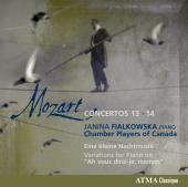 Album artwork for Mozart: Piano Concertos 13 & 14 / Fialkowska