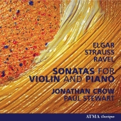 Album artwork for Jonathan Crow : Sonatas for Violin and Piano