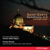 Album artwork for Saint-Saens: Symphony No.3 / Nezet-Seguin