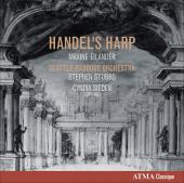 Album artwork for Handel's Harp: Music for Baroque Harp