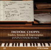 Album artwork for Chopin: Etudes, Sonatas, Impromtus / Fialkowska