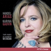 Album artwork for Handel: Arias / Karina Gauvin