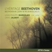 Album artwork for Louis-Philippe Marsolais: L'Heritage Beethoven