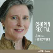 Album artwork for Janina Fialkowska: Chopin Recital