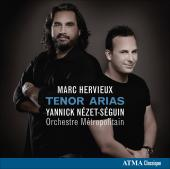 Album artwork for Tenor Arias: Marc Hervieux / Nezet-Seguin