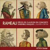 Album artwork for Rameau: Pieces for Harpsichord & Consort/ Masques