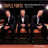 Album artwork for Ravel / Shostakovich / Ives: Piano Trios