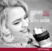 Album artwork for Mozart: Opera & Concert Arias / Gauvin, Les Violon