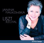 Album artwork for Janina Fialkowska: Liszt Recital