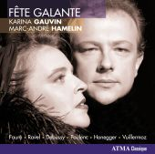 Album artwork for Karina Gauvin / Marc-Andre Hamelin: Fete Galante