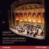 Album artwork for Chopin: Piano Concertos / Fialkowska