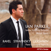 Album artwork for Ian Parker Plays Ravel, Stravinsky and Gershwin