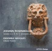 Album artwork for Rosenmuller: Sonate a 2, 3, 4 e 5 stromenti, da ar