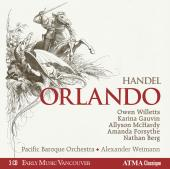 Album artwork for Handel: Orlando / Willetts, Weimann