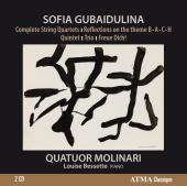 Album artwork for Gubaidulina: Complete String Quartets / Molinari