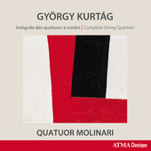 Album artwork for György Kurtág: Complete String Quartets